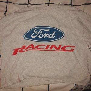 ford racing crop top